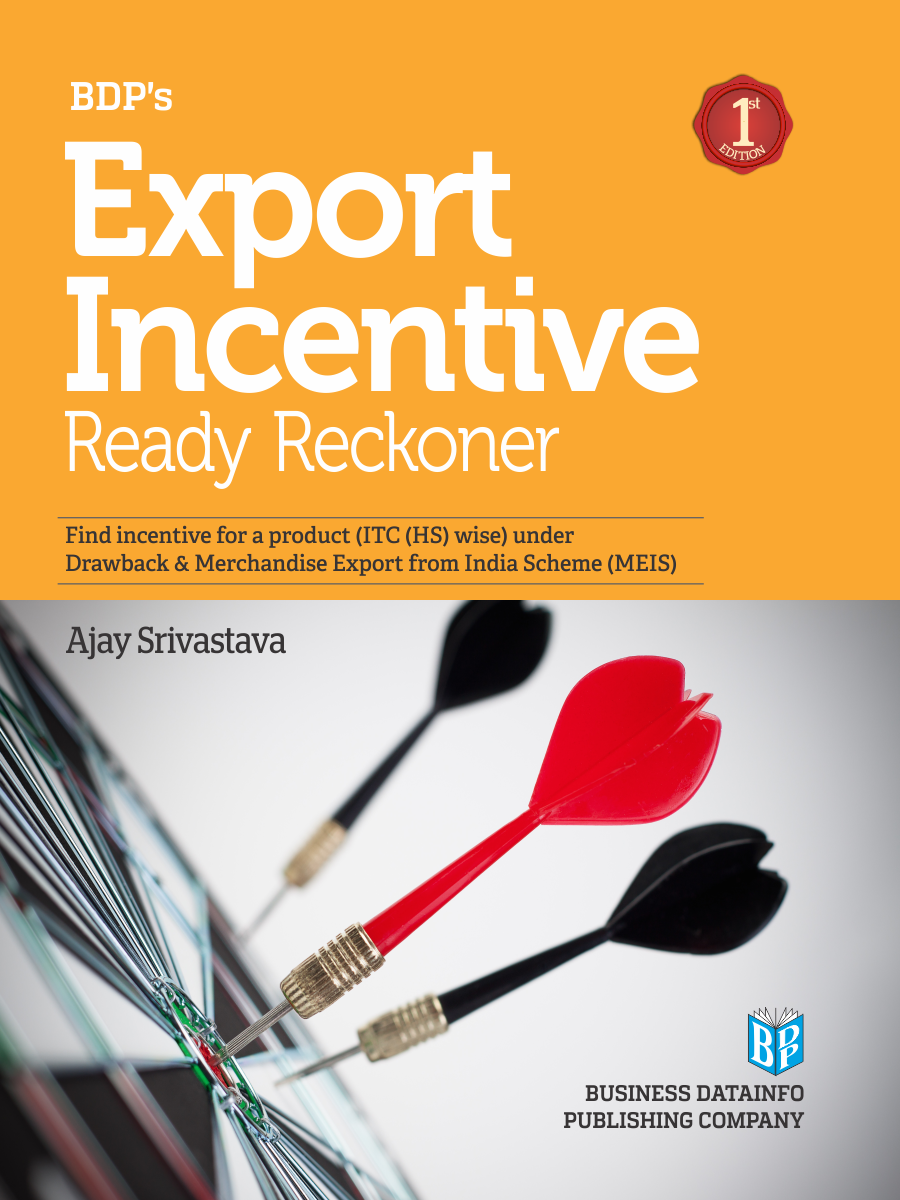 export incentive ready reckoner