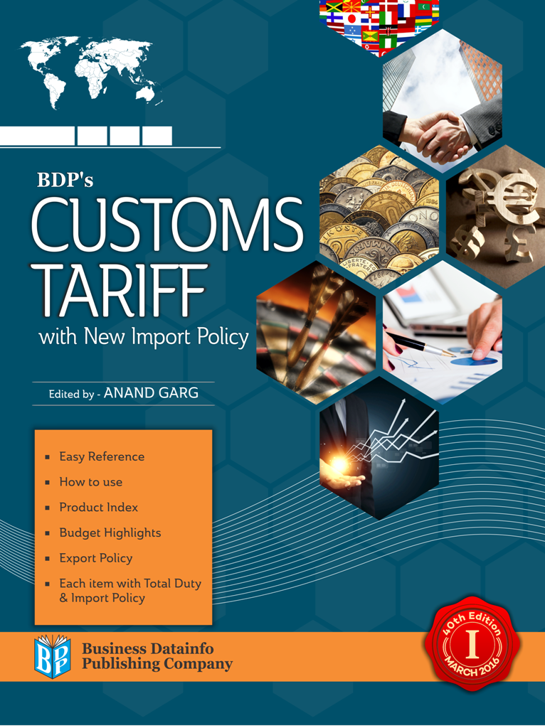 Customs Tariff with New Import Policy